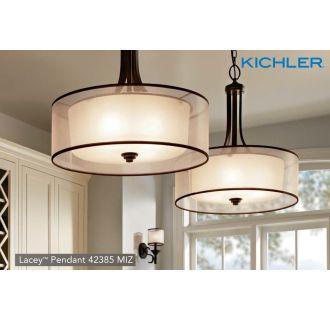 Kichler 42385ap Antique Pewter Lacey 4 Light 20 Quot Wide