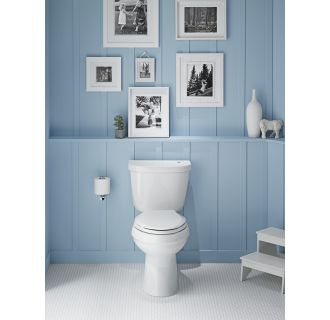 Kohler K 6418 0 White Cimarron 1 28 Gpf Elongated Two