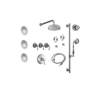 Manufacturer Keeneymfg as well P2793728 besides Rim Supply Lines besides 8 S Shaped Shower Arm besides B004AH1RB0. on shower head diverter brushed nickel