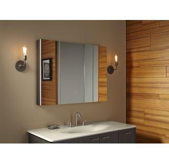 Kohler K 99010 Na N A Verdera 40 Quot W X 30 Quot H Triple Door Medicine Cabinet With Self Close Hinges
