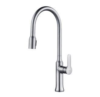 Kraus Kpf Ch Nola Single Lever Pull Down Kitchen Faucet Chrome Finish