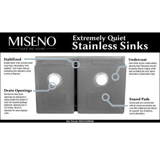 Miseno Mss3218c5050 16 Gauge Stainless Steel 32