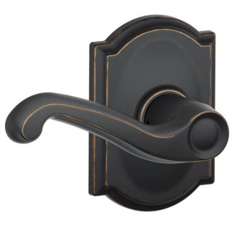 Schlage F10fla716cam Aged Bronze Passage Flair Door