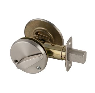 Schlage B571626 Satin Chrome One Sided Deadbolt With In