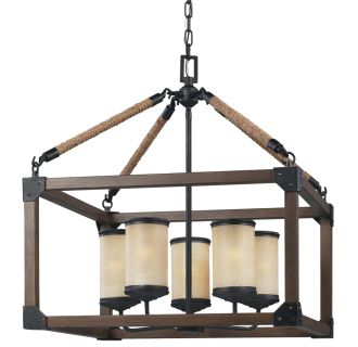 Sea Gull Lighting Five Six Stardust Dunning  Tier Candle Style Chandelier