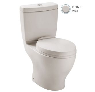Toto Cst416m 03 Bone Aquia Ii Two Piece Elongated Dual