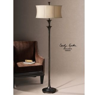 Uttermost 28229 1 Oil Rubbed Bronze Brazoria Floor Lamp From The Carolyn Kinder Collection