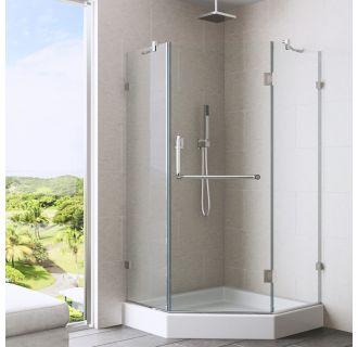 Faucet Com Vg6062chcl36 In Clear Chrome By Vigo
