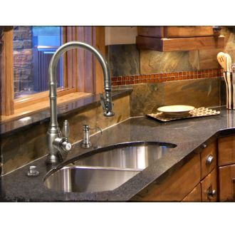 Waterstone 5600 3 Tb Tuscan Brass Annapolis Kitchen Faucet