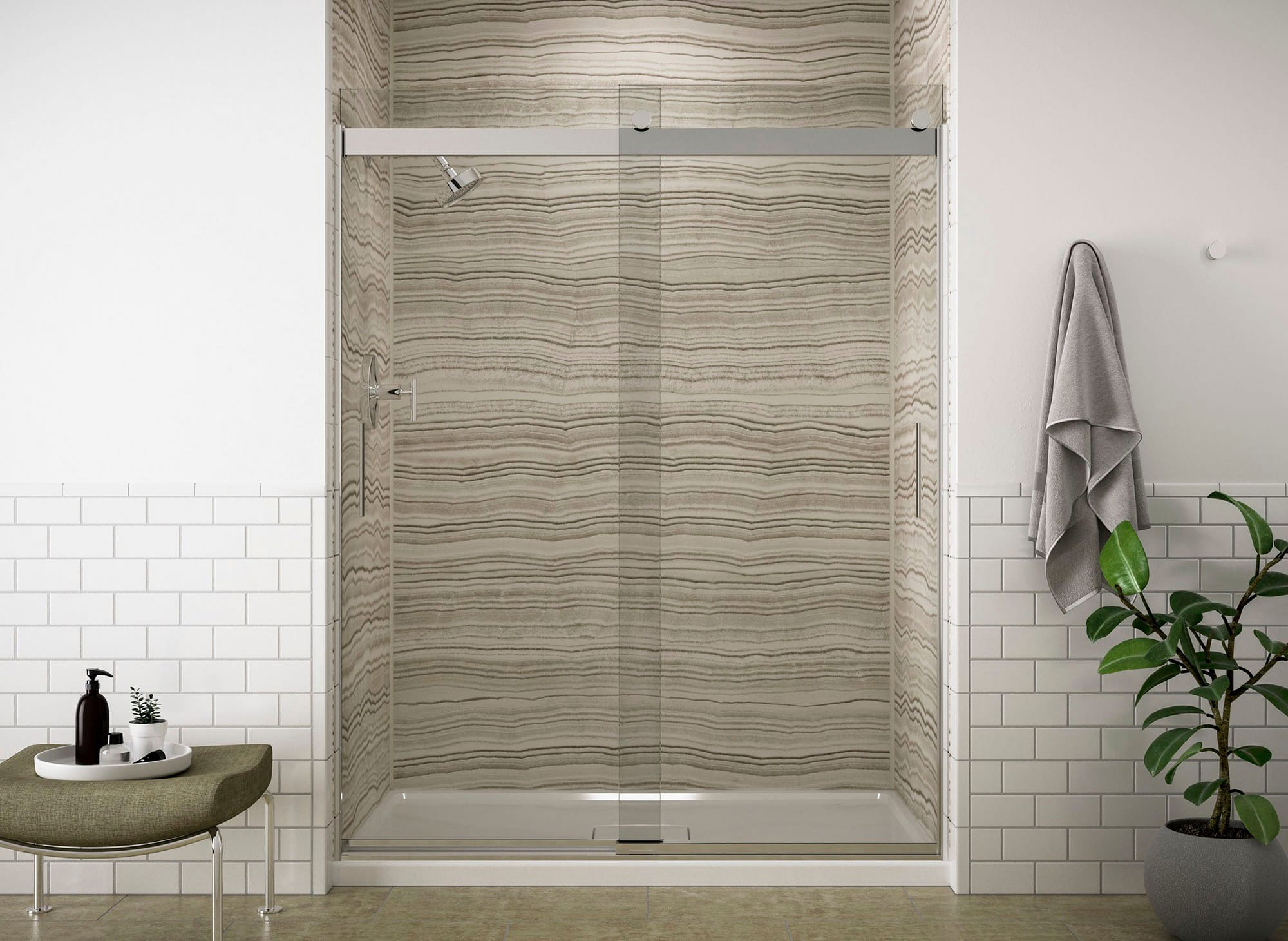 11 Styles Of Shower Doors And Glass Options