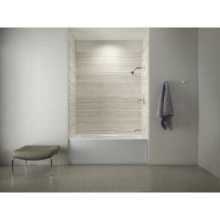 Kohler K97618K1123RA0 White Choreograph 60 x 72 Shower and