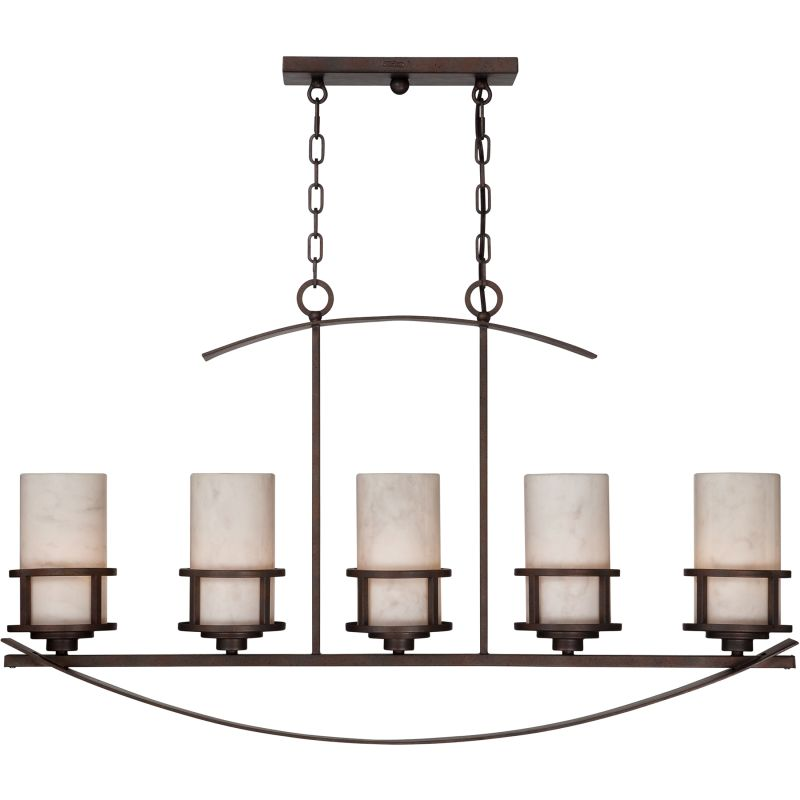 Quoizel KY540IB Imperial Bronze Kyle 5 Light 40 Linear Chandelier