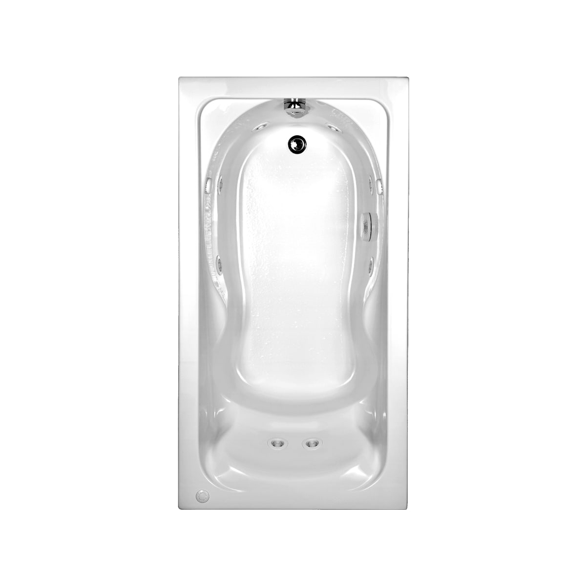 American Standard 2770018w020 White Cadet 59 7 8 Acrylic Parts Diagram Jacuzzi Whirlpool Tub Air Button Previous