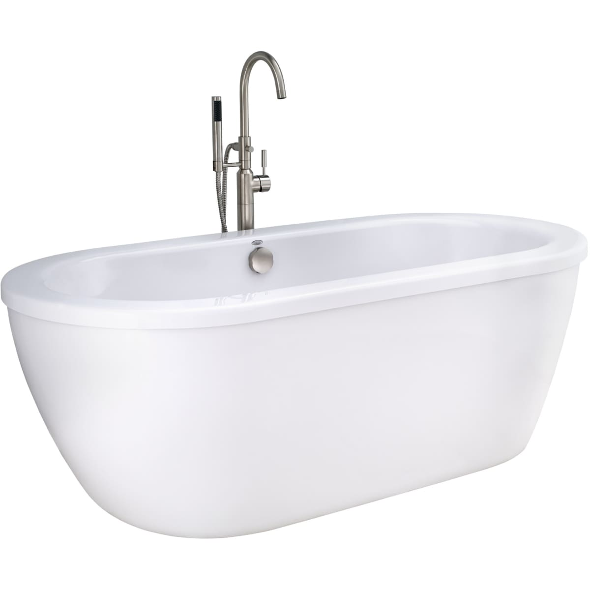 American Standard 2764.014M202.011 Arctic White with Chrome Drain ...