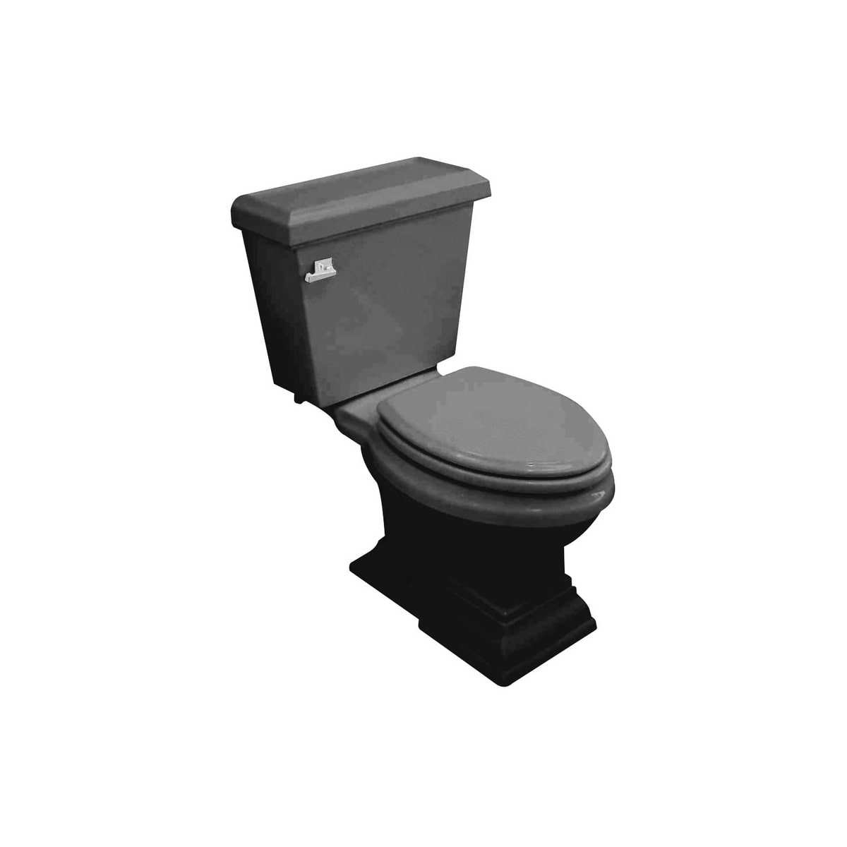 American Standard 2787.016.178 Black Town Square Two-Piece Round ...