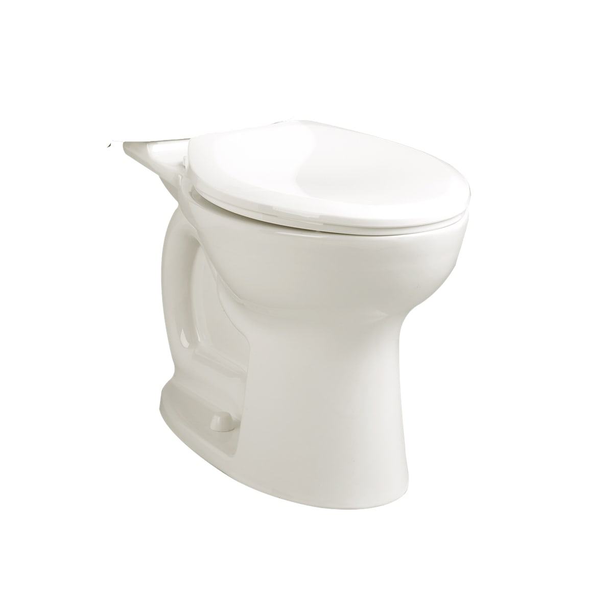 American Standard 3517b 101 020 White Cadet Pro Round Toilet Bowl Only With Everclean Surface Powerwash Rim And Right Height Bowl Faucet Com