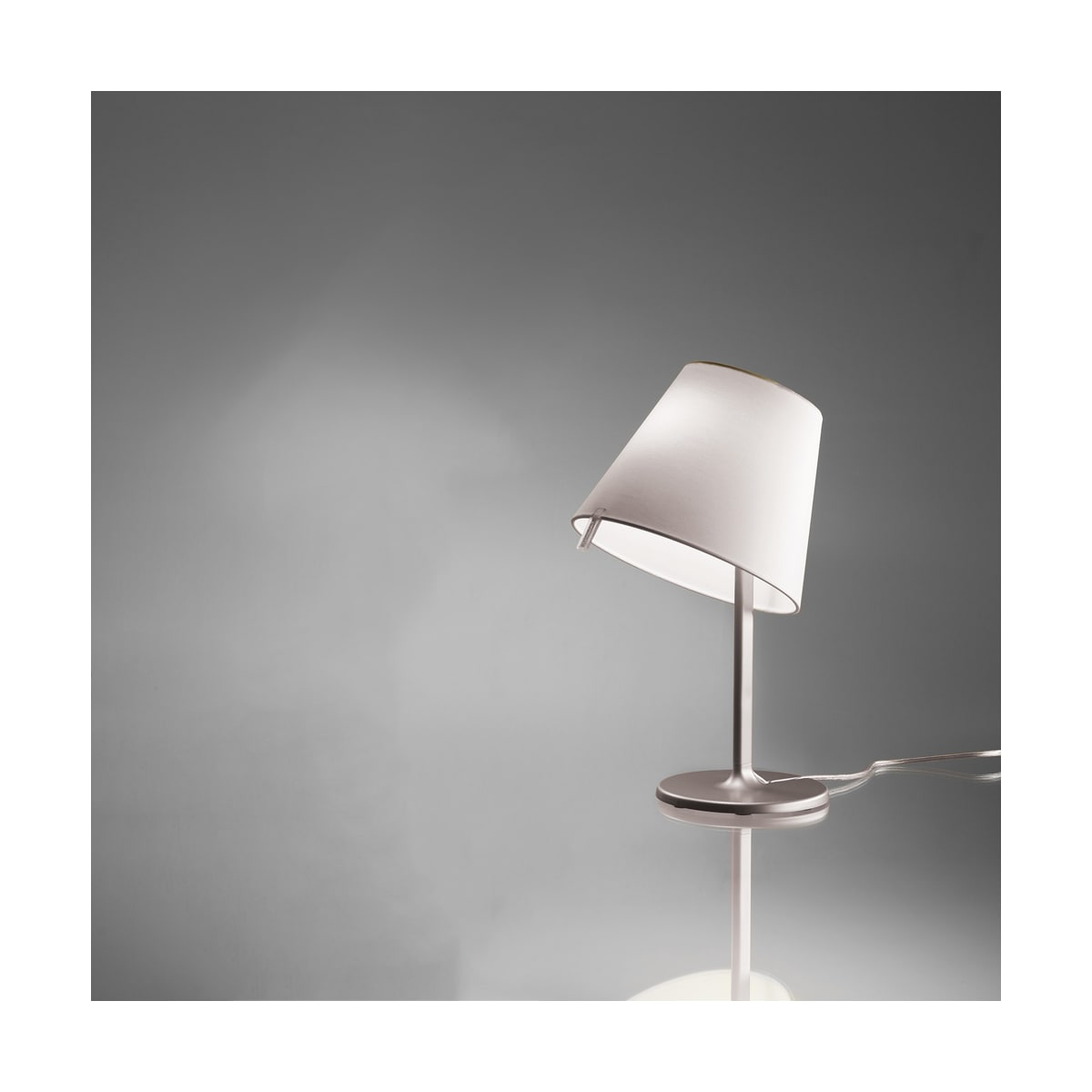 Artemide Usc 0710028a Bronze Melampo Single Light 15 3 4 Tall Table Lamp Lightingshowplace Com