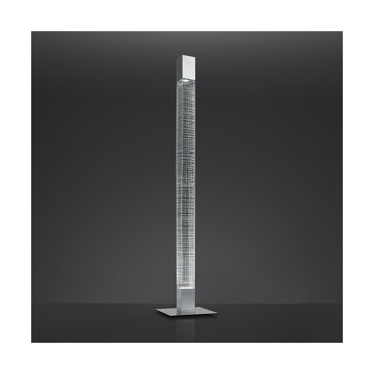 Artemide Usc 1835015a Polished Aluminum Mimesi Single Light 71 Tall Integrated Led Column Floor Lamp Lightingshowplace Com
