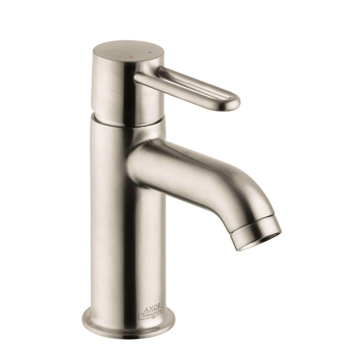 Axor 38020001 Chrome Uno 1.2 GPM Single Hole Bathroom Faucet with ...