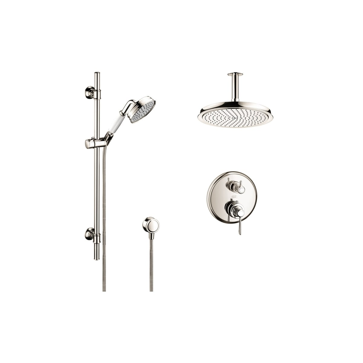 Axor AXSS-Montreux-T02-000 Chrome Montreux Thermostatic Shower ...