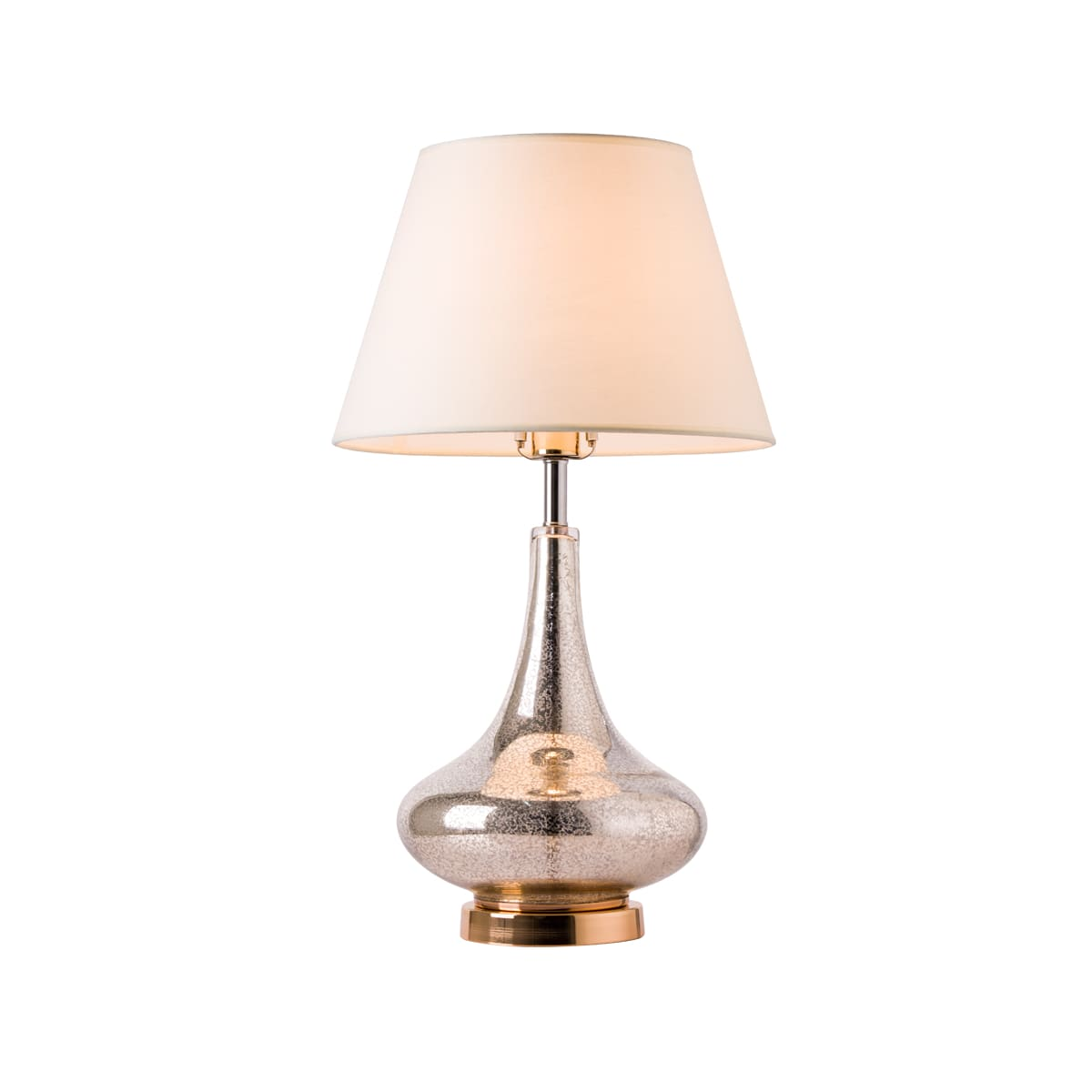 Bellevue T G25021a1 Gold Mercury Lotus 25 Tall Table Lamp Lightingdirect Com