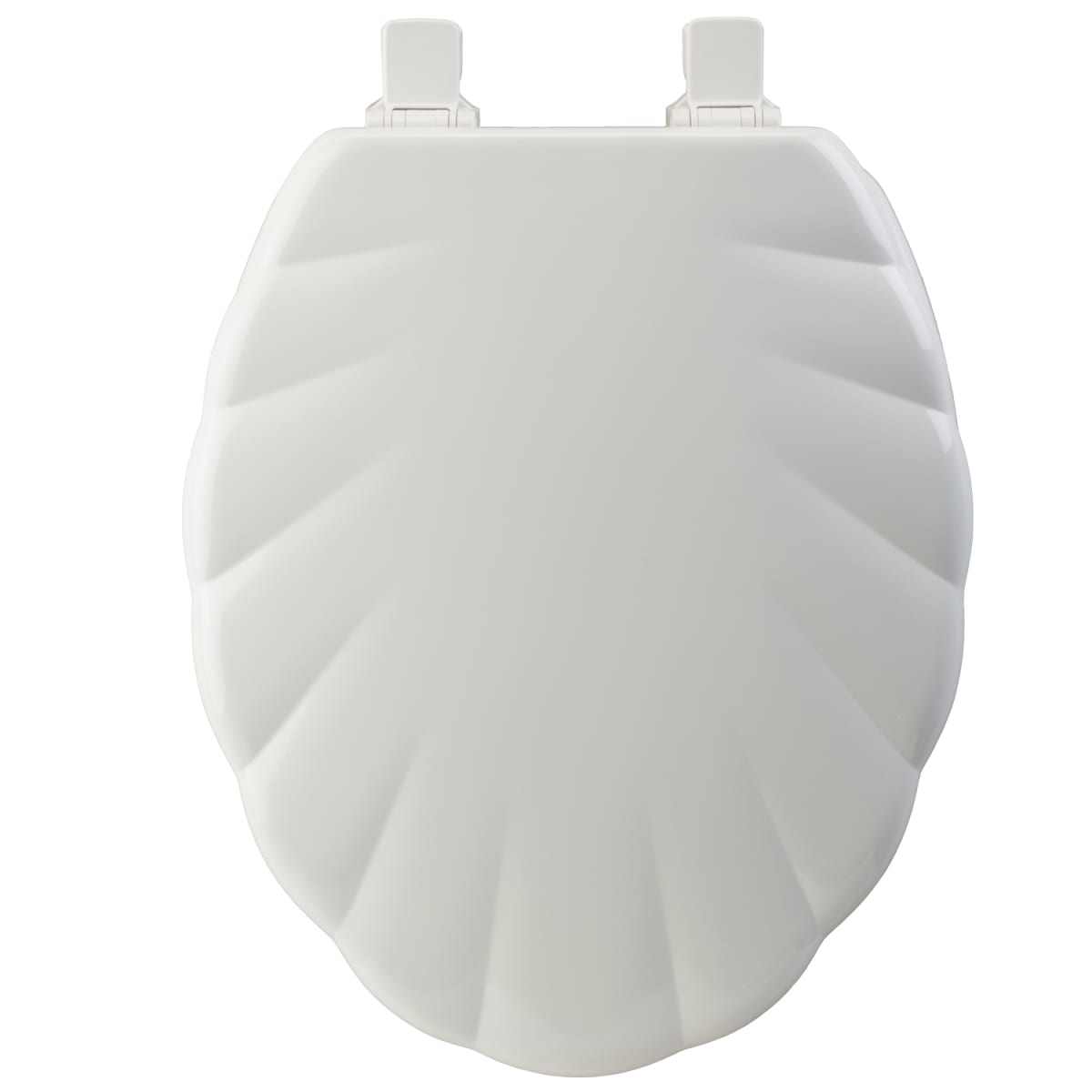 Bemis 122ec 000 White Elongated Molded Wood Shell Design Toilet Seat With Easy Clean Change Hinge Faucet