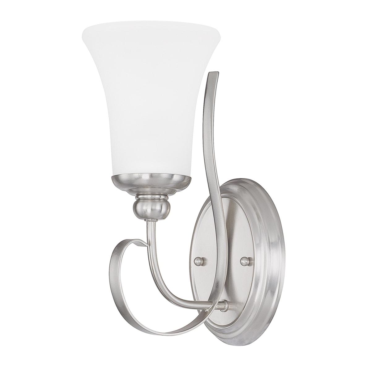 Capital Lighting 614511bn 335 Brushed Nickel Griffin Single Light Bathroom Sconce
