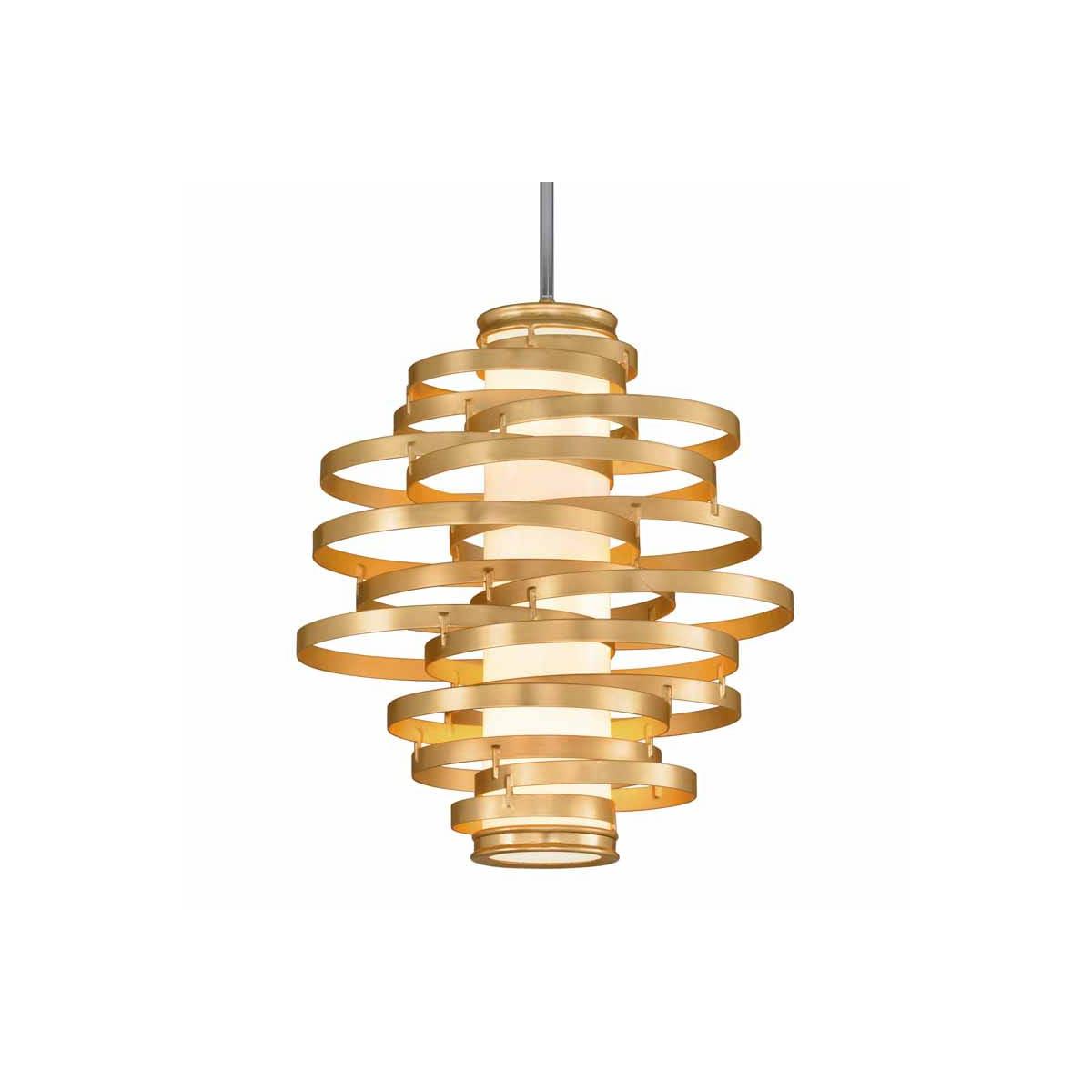 Corbett Lighting 225 43 Gold Leaf With