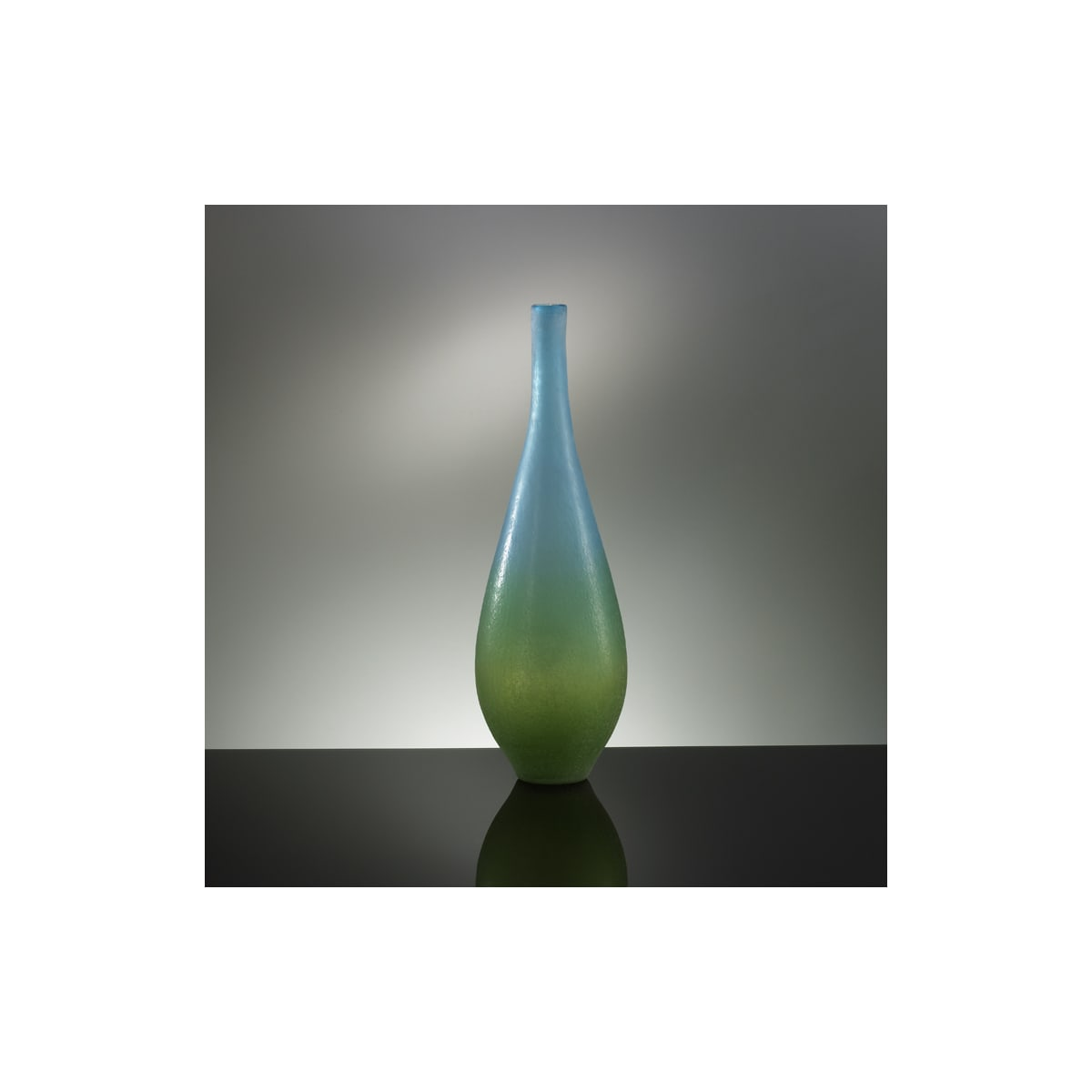 Blue And Green Cyan Design Large Vizio Blue And Green Vase 01665