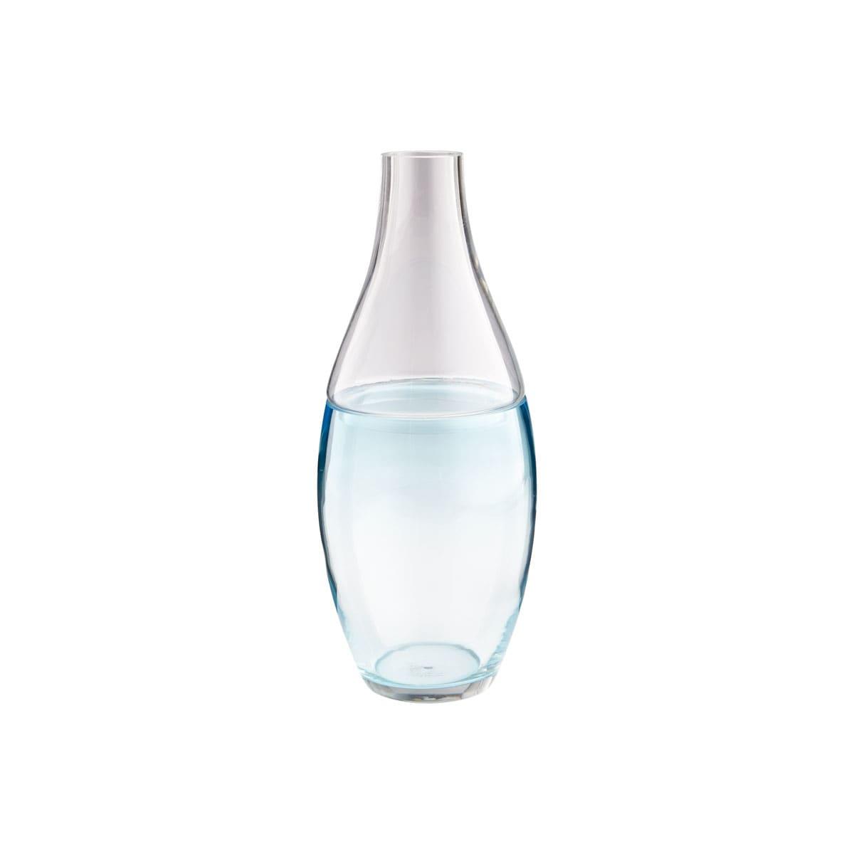 Cyan Design 08608 Blue Clear Blue Mirage 16 5 Inch Tall Glass Vase Lightingdirect Com