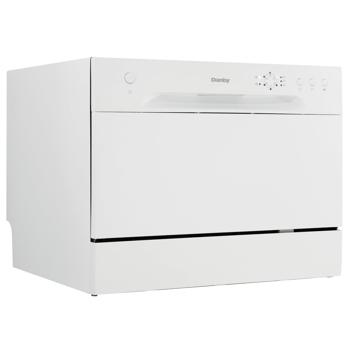 Danby 22 Inch Wide 6 Place Setting Energy Star Countertop Full Console Dishwasher