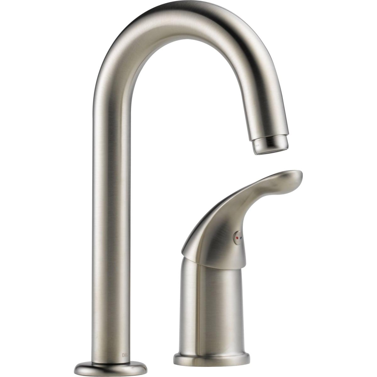 Two Handle Bar Prep Faucet 2155 Ss Dst Delta Faucet