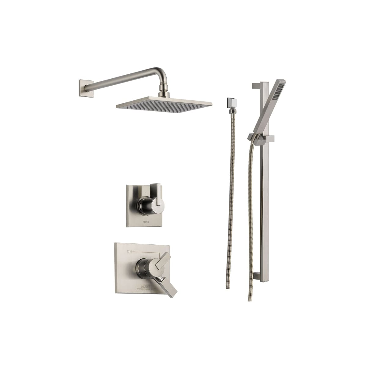 Delta Dss Vero 1701 Chrome Monitor 17 Series Dual Function Pressure How To Remove Single Valve Handle Shower Page 2 Balanced System With Integrated Volume Control Head And Hand