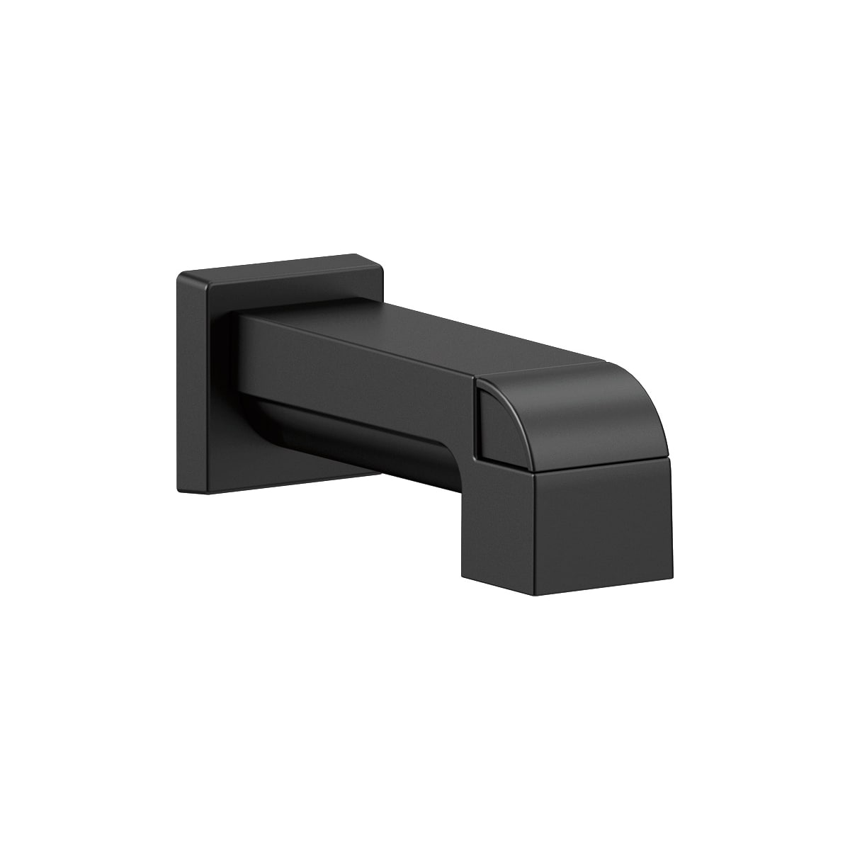 Delta RP75435SS Brilliance Stainless Ara Tub Spout (Pull-up Diverter ...