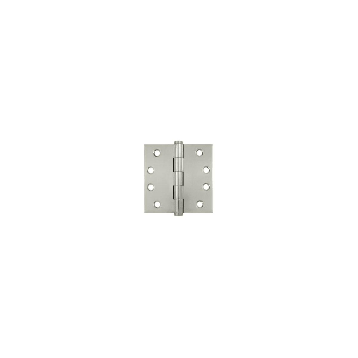 Deltana DSB43-UNL Solid Brass 4-Inch x 4-Inch Square Hinge