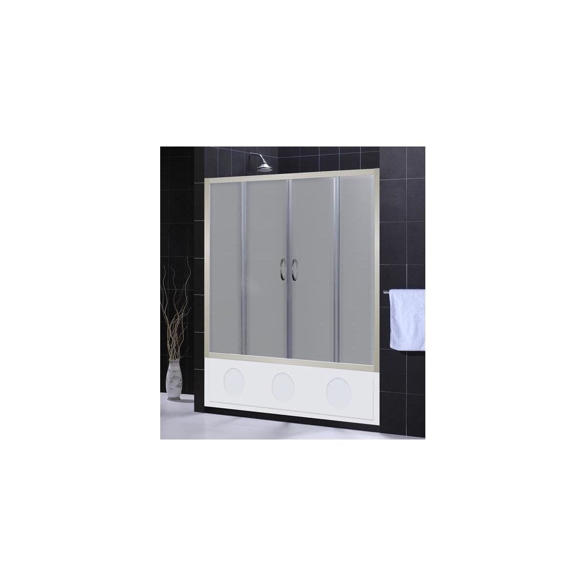 Dreamline Shdr 1160586 04 Fr Brushed Nickel Frosted Glass