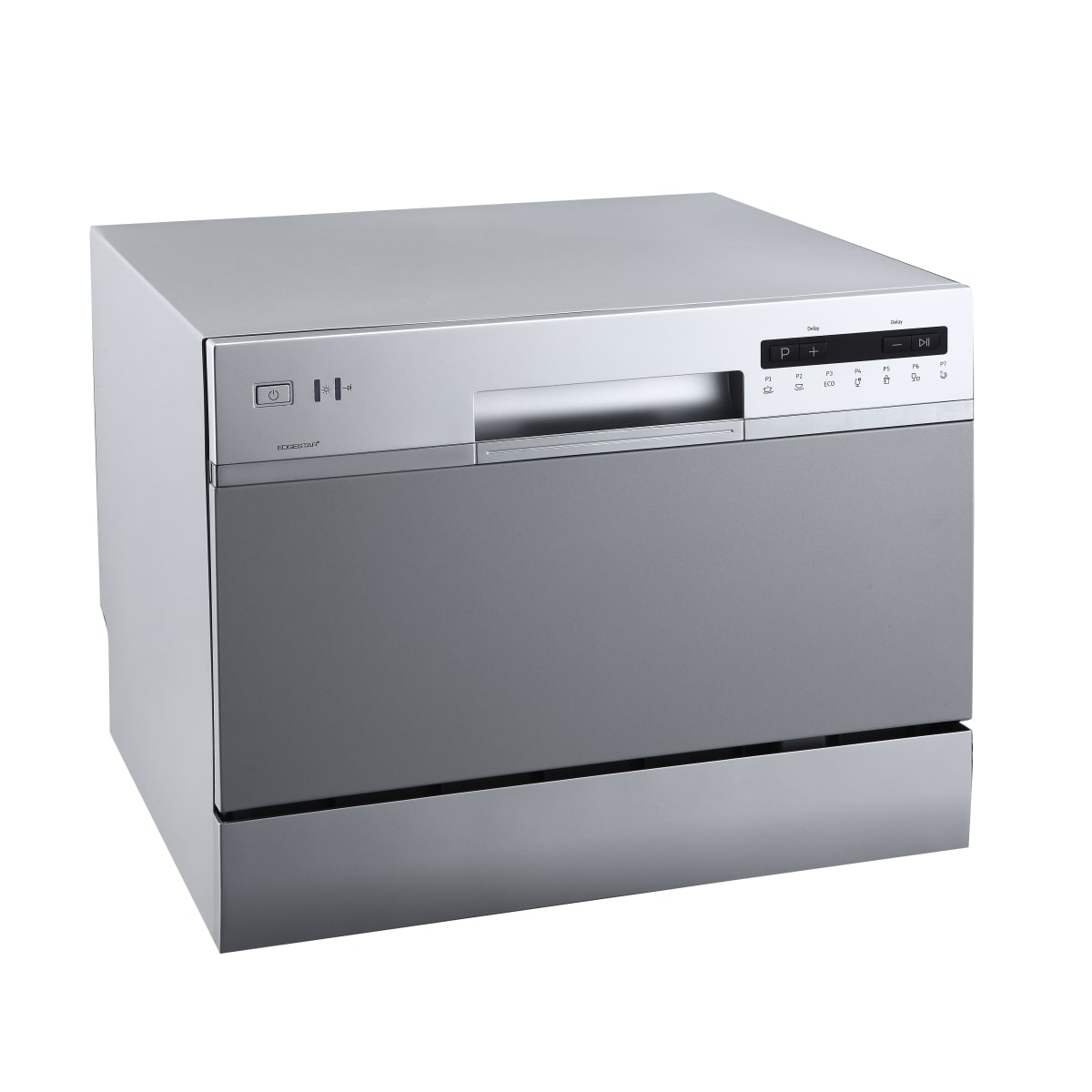 EdgeStar 22 Inch Wide 6 Place Setting Energy Star Rated Countertop Dishwasher