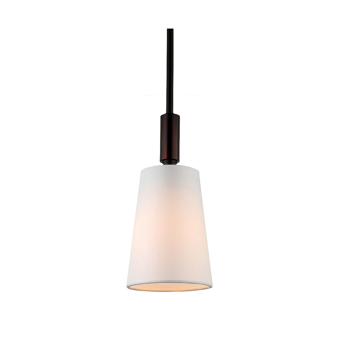 Feiss P1303orb Oil Rubbed Bronze Lismore 1 Light Mini Pendant Lightingdirect Com