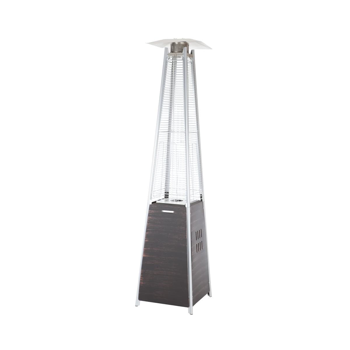 Coronado Bronze Pyramid Flame Patio Heater