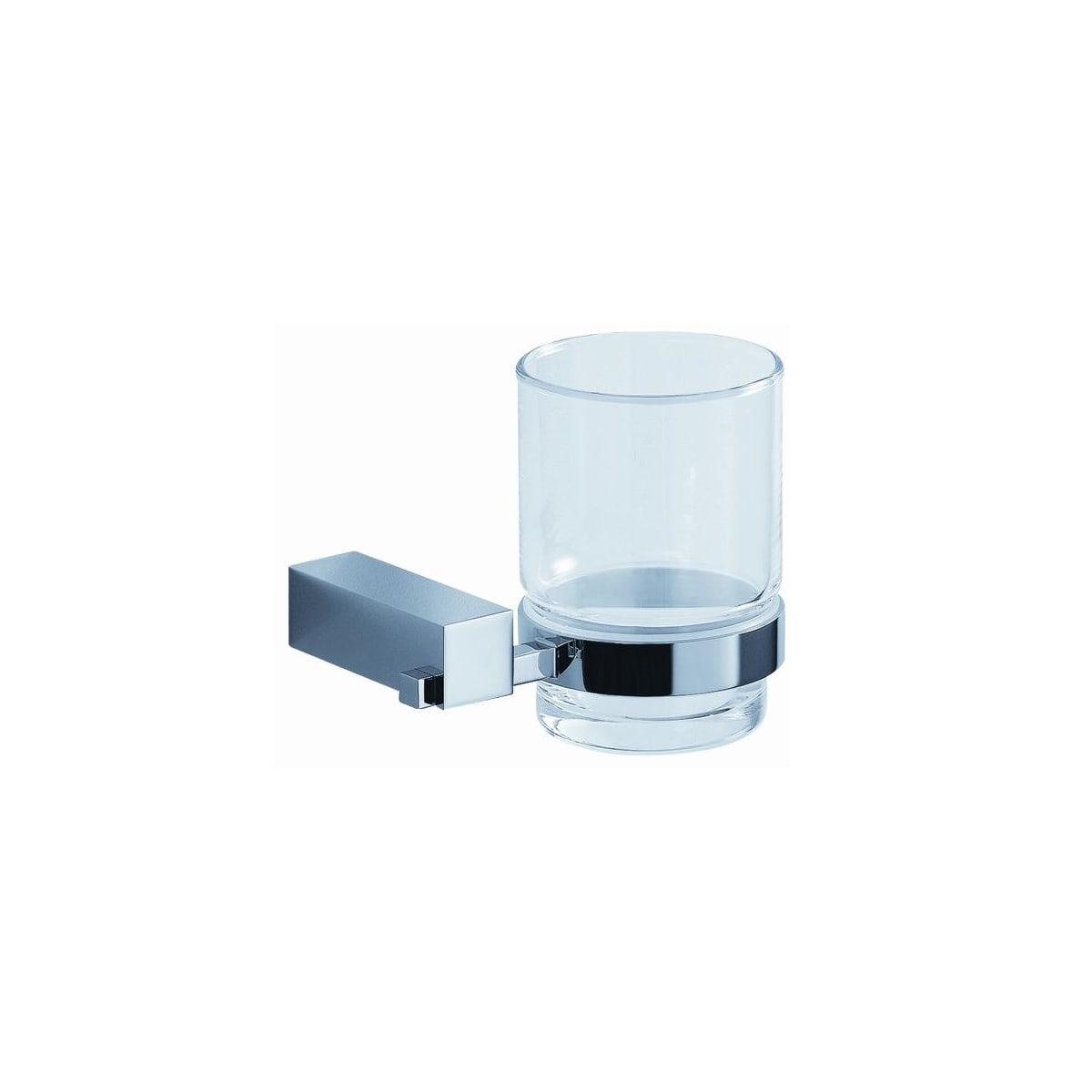 Fresca Fac0410 Chrome Ottimo 4 25 Wide Wall Mounted Tumbler Holder Faucet Com