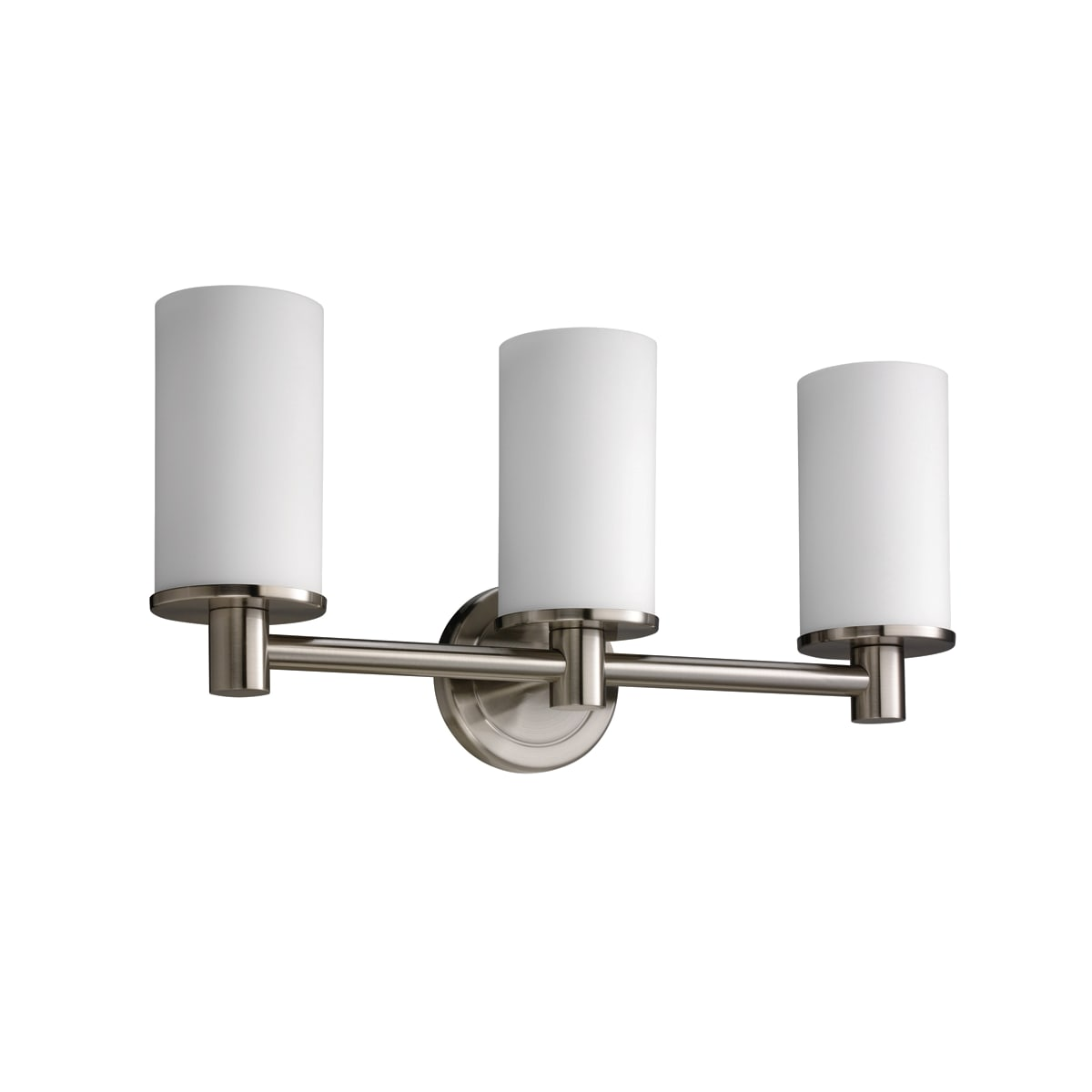 Gatco 1687 Satin Nickel Triple Sconce