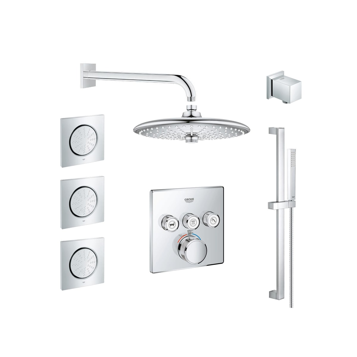 Grohe Gss Grohtherm Sq 10