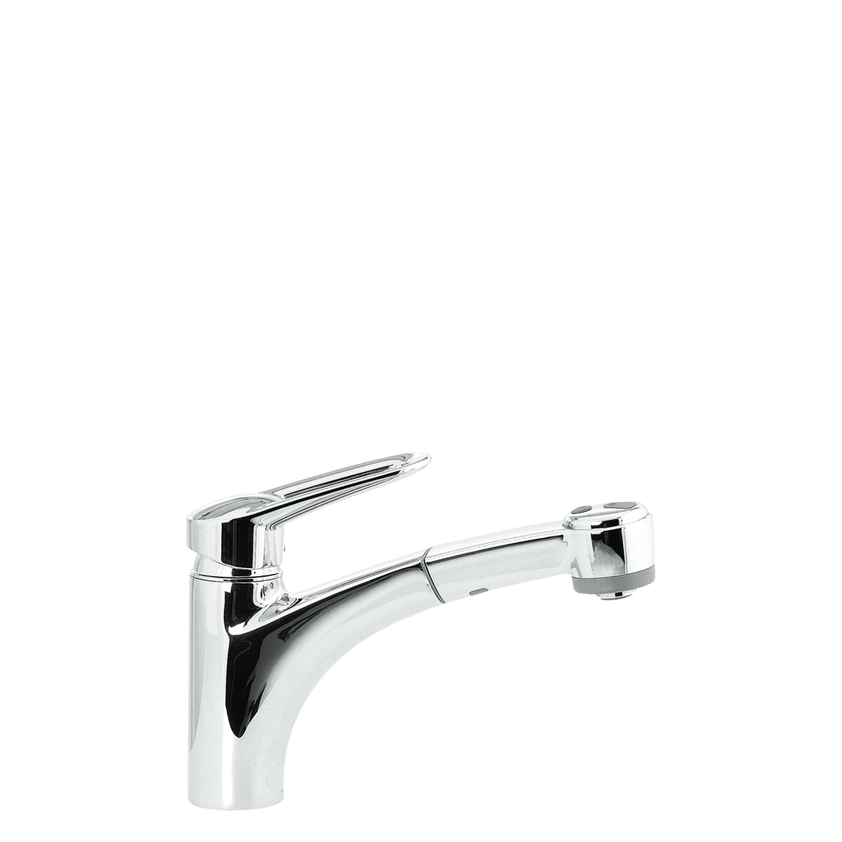 Hansgrohe 06917000 Chrome Single Handle Pullout Kitchen