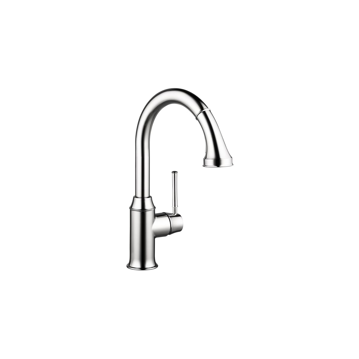 Hansgrohe 04215000 Chrome Talis C High-Arc Pull-Down Kitchen Faucet ...