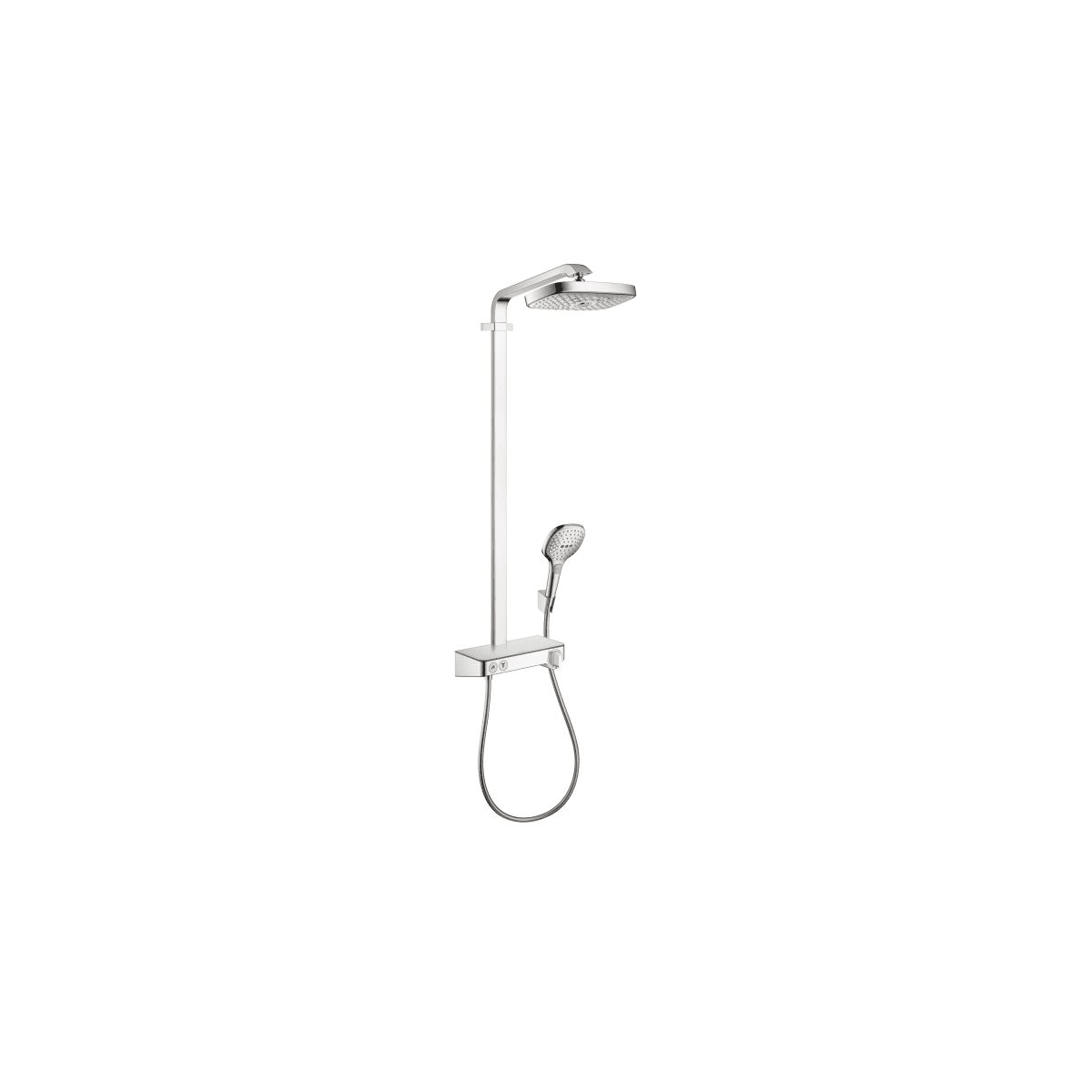 Hansgrohe 27126001 Chrome Raindance Shower Package With Raindance ...
