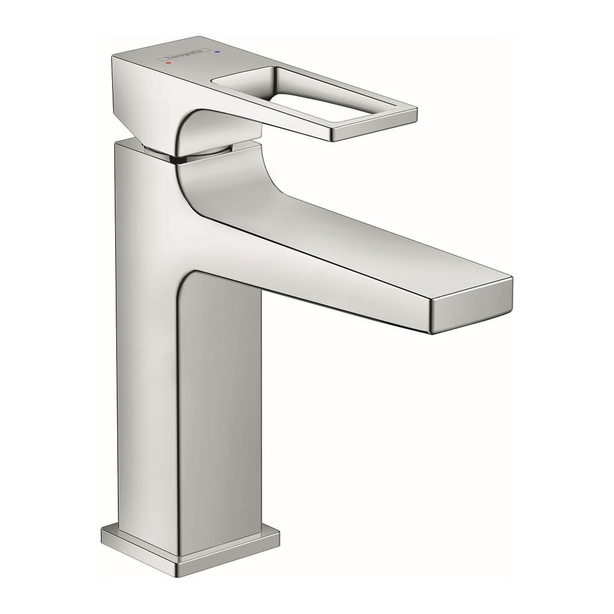 Hansgrohe 74506001 Chrome Metropol 1 2 Gpm Single Hole Bathroom Faucet With Loop Handle And Pop Up Drain Limited Lifetime Warranty Faucet Com