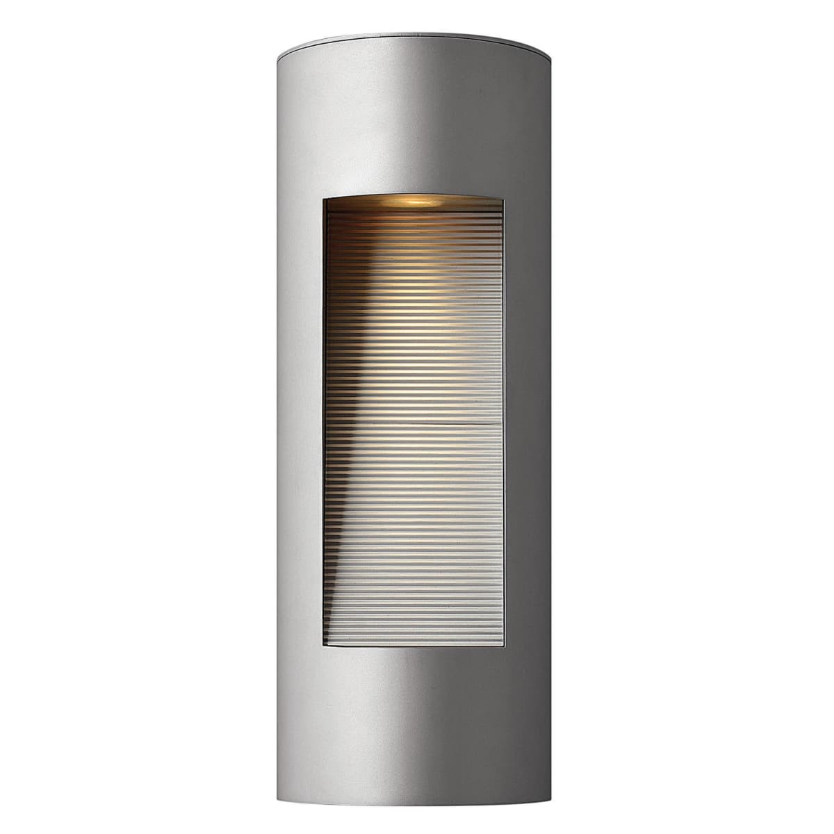 Hinkley Lighting 1660tt Titanium 16 75 Height 2 Light Ada