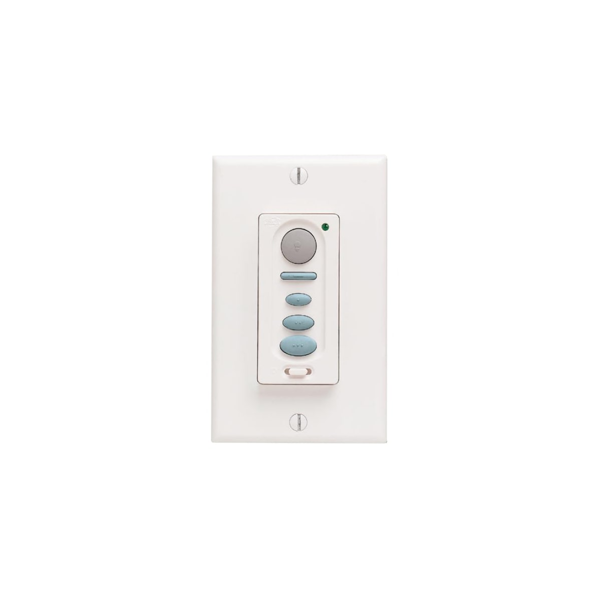 Hunter 27186 White Universal Wall Remote Control for Fan and Lights -  LightingShowplace.com
