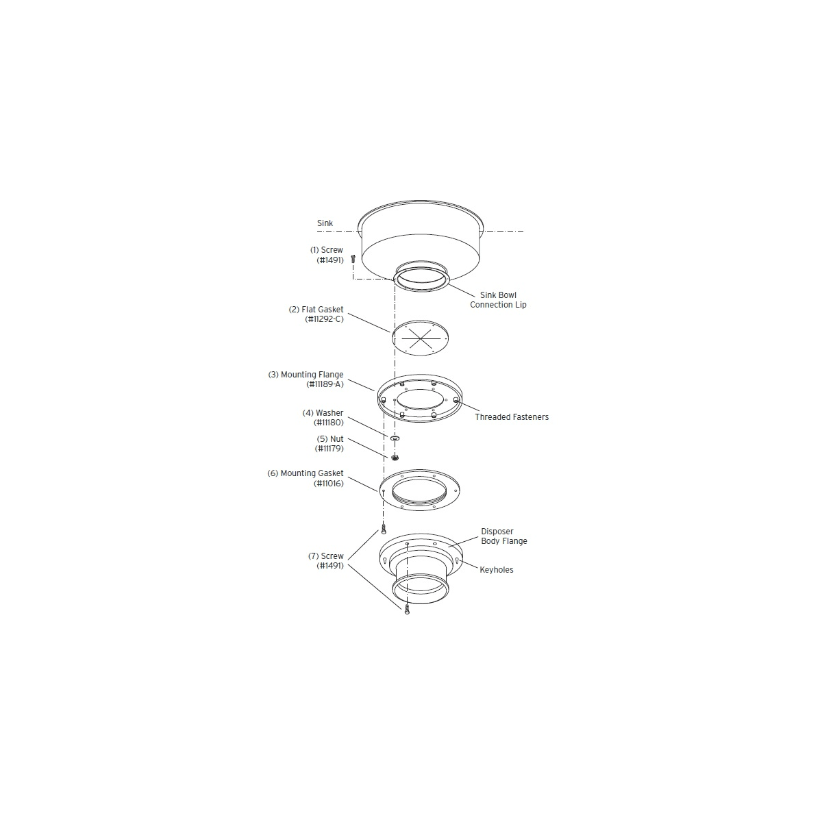 Insinkerator 11599E Adapter