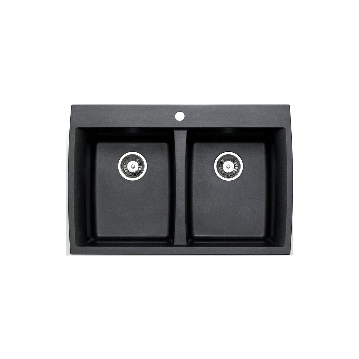 Jacuzzi AS-GX20RZUSSK Metallic Black Astracast® Granite Composite ...